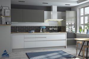 Зов - Кухня из акрила «Интегро» Сахар/Песок