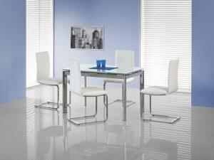 Столы - Стол обеденный  LAMBERT (экстра белый)