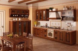 Классические кухни - РУНА