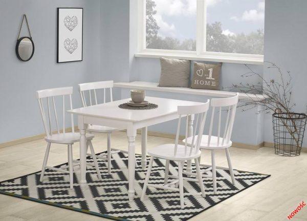 Столы - Стол обеденный LANFORD 120 (белый)