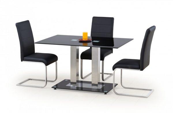 Стол обеденный HALMAR WALTER 2 черный, 130/80/74