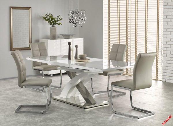 Столы - Стол SANDOR 2 серо/белый