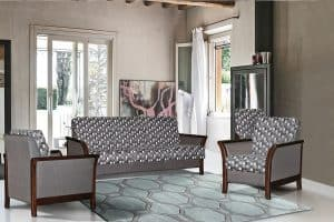 Наборы мягкой мебели - Набор мебели «Канон 1» (диван+2 кресла) 31003_1+785_0_21gr
