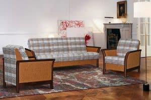 Наборы мягкой мебели - Набор мебели «Канон 1» (диван+2 кресла) 712_1+stella_20gr