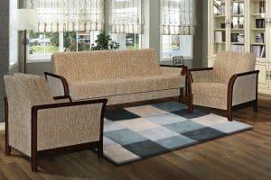 Наборы мягкой мебели - Набор мебели «Канон 1» (диван+2 кресла) 759_0+759_0_23gr