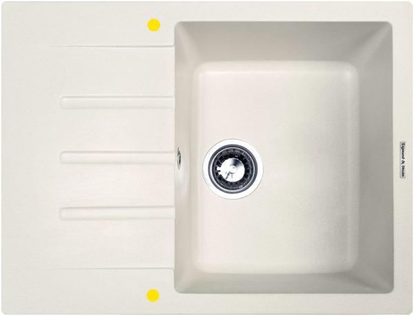 Кухонная мойка Zigmund & Shtain RECHTECK 645 Индийская ваниль