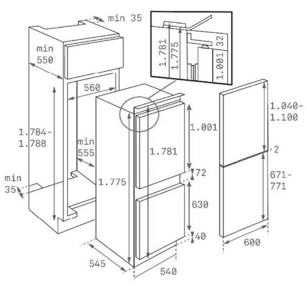 Холодильник «Teka CI3 320»