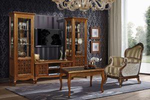 Мебель для гостиной - Гостиная «Видана Люкс» #1  Пинскдрев