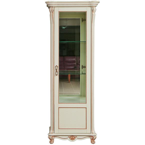 Шкаф с витриной «Алези 8» П350.08   Пинскдрев