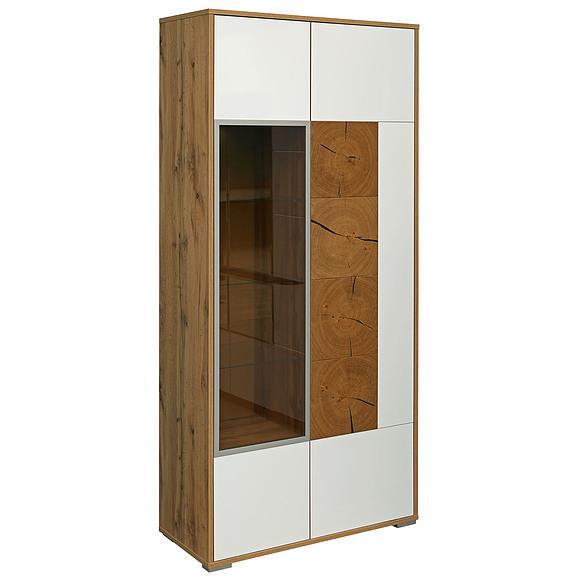 Шкаф с витриной «Гелиос» П550.01 Пинскдрев