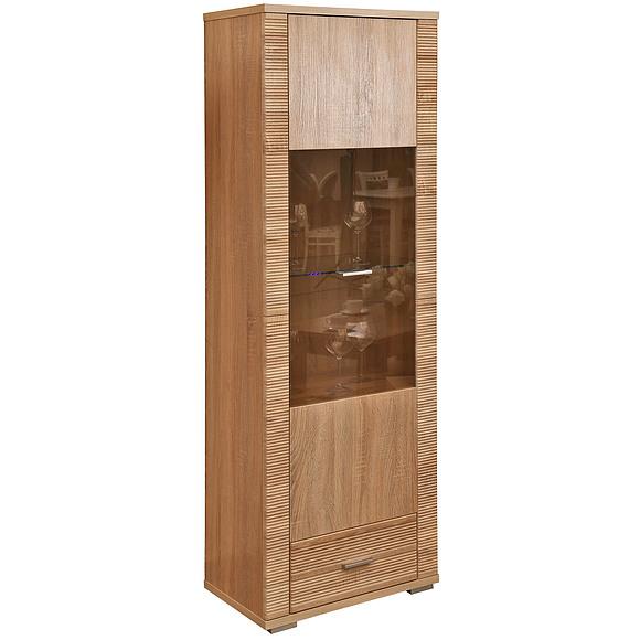 Шкаф с витриной «Гресс» П501.04 Пинскдрев