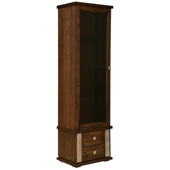 Шкаф с витриной «Тунис» П343.21Ш Пинскдрев