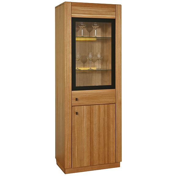 Шкаф с витриной «Рико 1» П449.01 Пинскдрев