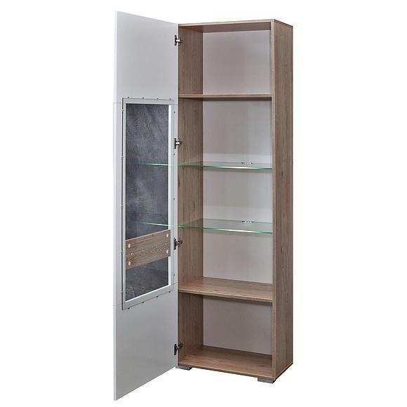 Шкаф с витриной «Арно» П448.01-01 Пинскдрев