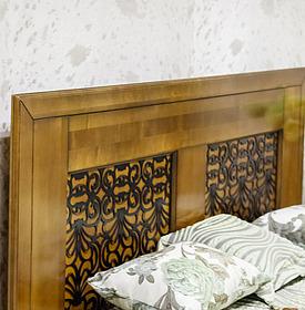 Кровать двойная «Видана Люкс» П445.02-1 Пинскдрев