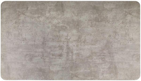Стол обеденный HALMAR HALIFAX серо\черный, 160/90/76
