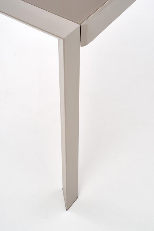 Стол обеденный HALMAR ARABIS раскладной, св.коричневый\бежевый, 122-182/82/76