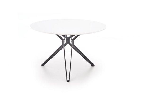 Стол обеденный HALMAR PIXEL белый\черный , 120/76