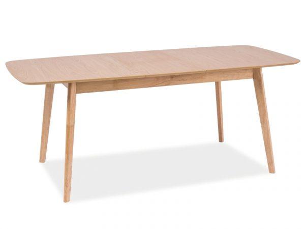 Стол обеденный SIGNAL FELICIO раскладной, дуб 120-150/75/75