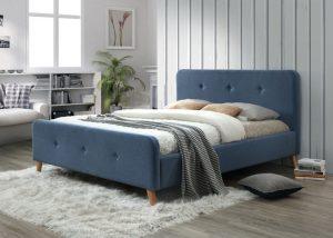 Кровать SIGNAL MALMO деним, 160/200 NEW