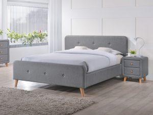 Кровать SIGNAL MALMO серый, 180/200 NEW