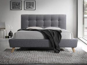 Кровать SIGNAL SEVILLA серая 160/200