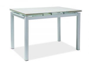 Стол обеденный SIGNAL TURIN 110 раскладной, белый 110-170/70/76 NEW