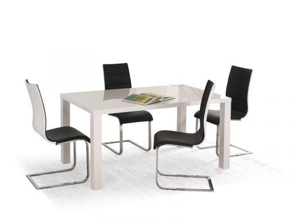 Стол обеденный HALMAR RONALD белый, 120/80/75