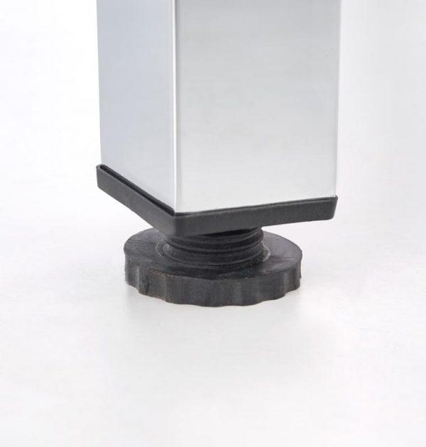 Стол обеденный HALMAR LOGAN 2 раскладной, серый, 96-142/70/76