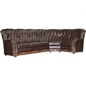 Угловые диваны - Угловой диван «Европа» (3мL/R901R/L) Пинскдрев