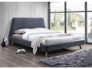 Кровать SIGNAL GANT серая 160/200