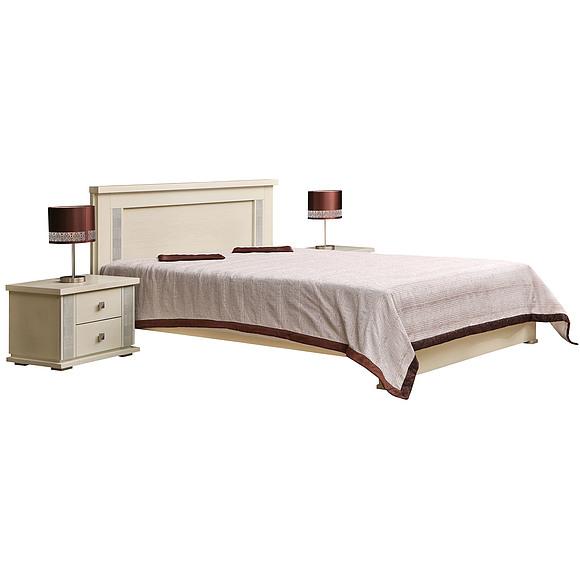 Кровать двойная «Тунис» П344.05  Пинскдрев