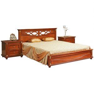 Кровать «Валенсия 3М» П254.52 Пинскдрев