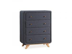 Корпусная мебель - Комод SIGNAL MELISSA дуб\серый