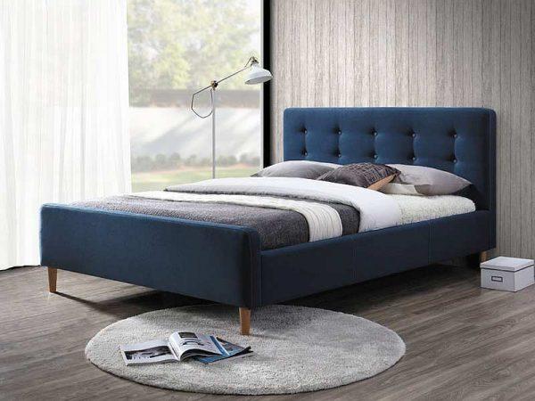 Кровать SIGNAL PINKO темно синяя 160/200