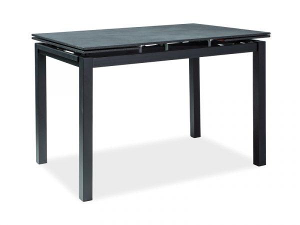 Стол обеденный SIGNAL TURIN 110 раскладной, черный 110-170/70/76 NEW