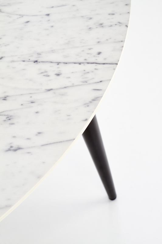 Стол обеденный HALMAR BELATO  мрамор 120/76 NEW