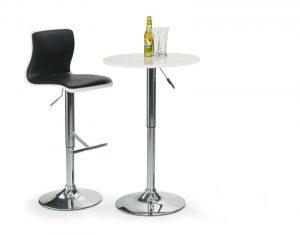 Барные стулья - Стол барный HALMAR SB1 белый