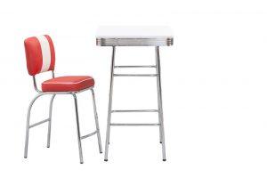 Барные стулья - Стол барный HALMAR SB11 белый