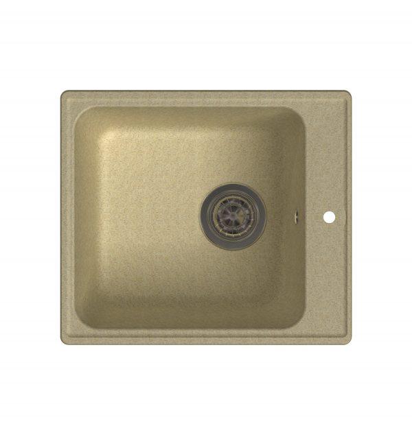 LEX Balaton 420 Ivory Кварцевая кухонная мойка