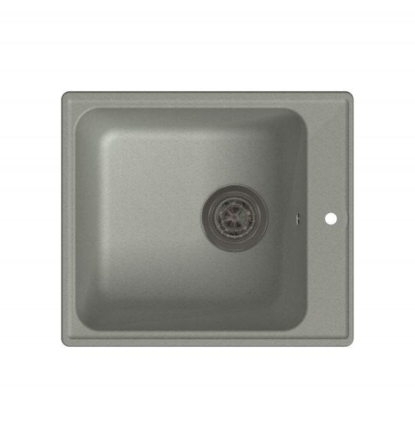LEX Balaton 420 Space Gray Кварцевая кухонная мойка