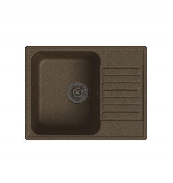 LEX Garda 620 Chocolate Кварцевая кухонная мойка