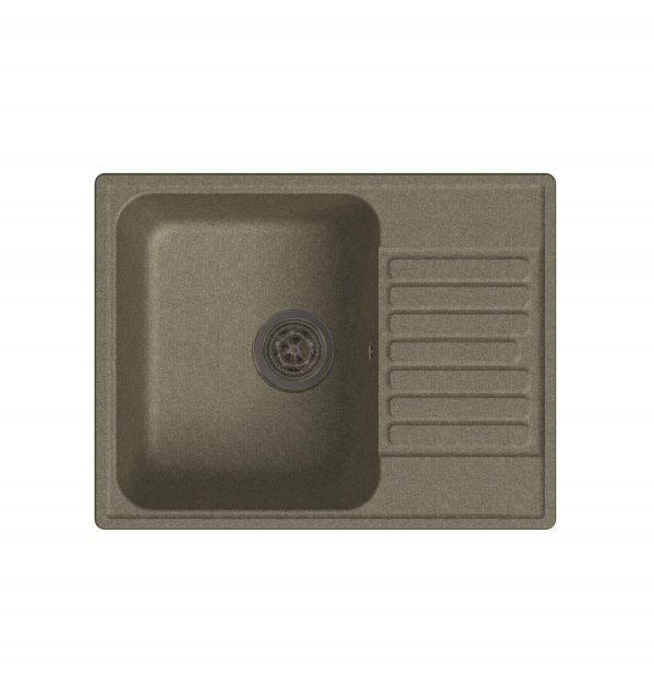 LEX Garda 620 Sand Кварцевая кухонная мойка