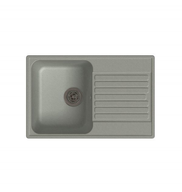 LEX Geneva 740 Space Gray Кварцевая кухонная мойка