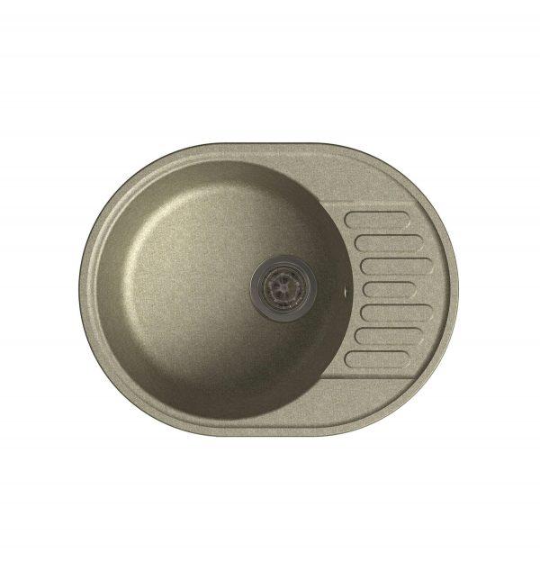 LEX Orta 620 Sand Кварцевая кухонная мойка