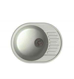 LEX  Orta 620 White Кварцевая кухонная мойка