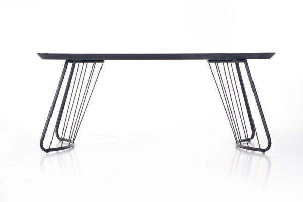Стол обеденный HALMAR BOSTON базальт, 180/90/76 NEW