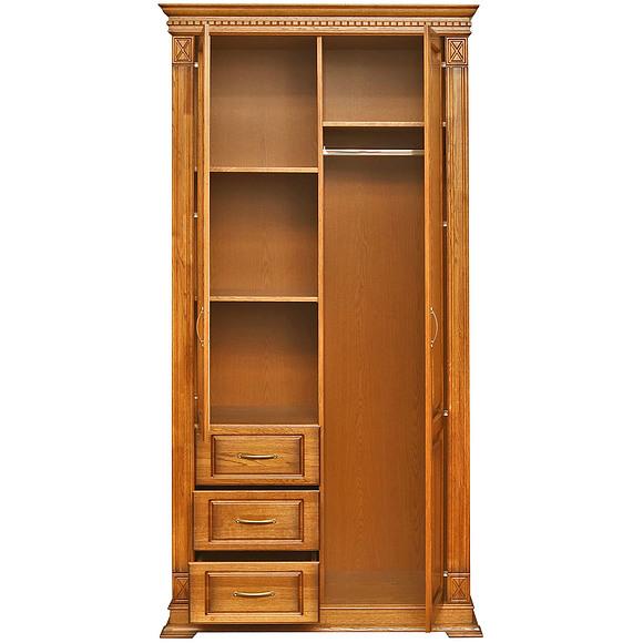 Шкаф комбинированный для прихожей «Верди Люкс» П433.12Z Пинскдрев
