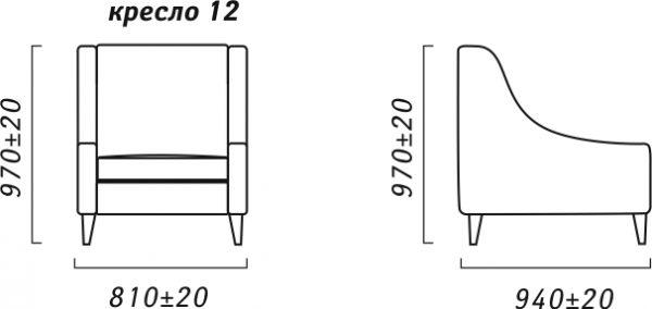 Кресло «Смарт» (12) Пинскдрев