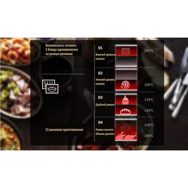 Духовой шкаф электрический встраиваемый EXITEQ EXO — 103
